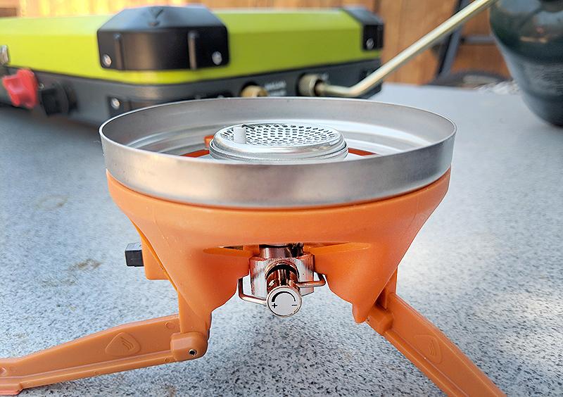 Jetboil Luna Satellite Side Burner for Jetboil or Eureka Camping Stoves