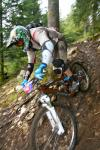 Ross Schnell, Trestle Bike Park sponsored rider, stock photo