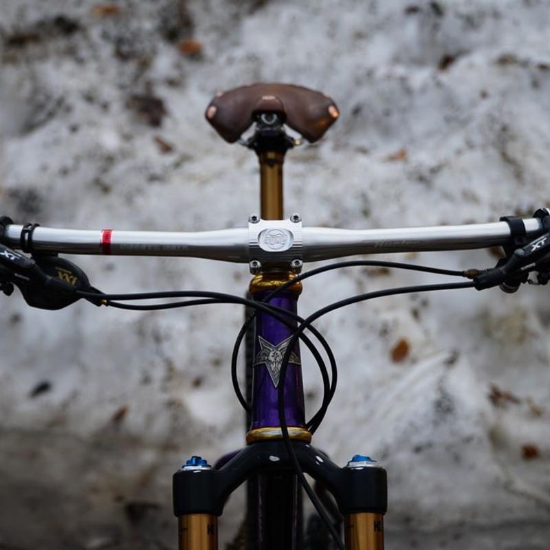 PAUL Component Boxcar Stem Polished 35 Mm 0 Deg 31.8 Mm Bike
