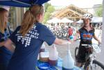The kid in us all: Everyone at the race venue enjoyed free SnoCones from Zions Bank.