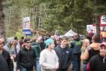 A great crowd turn-out for the stacked-field in Port Angeles this weekend.  Port Angeles, WA