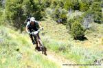 Mountain Flyer's Jordan Carr, ripping through stage 2 rounded out the day in 4th in the Pro Class