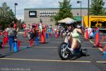 The Big Wheel race checkpoint brought out a lot of laughter from a twisty course that rewarded big power slides.