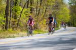 George Hincapie and Wes Dickson summit Caesars Head climb.