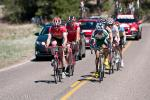 The breakaway worked well together to stay away.