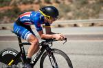 U23 national champ Nathan Brown had a painful ride after getting banged up during stage 2.