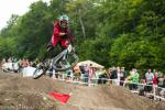 Brian Buell put in the hard work to earn the bronze medal in the dual slalom.
