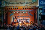 The Expendables headlined the Bud-Light Mountains of Music concert on Saturday night.