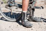 Jarral put some serious wear on his Mountain Flyer socks!