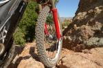 Rough, Rocky trails are easily conquered with the durable SX